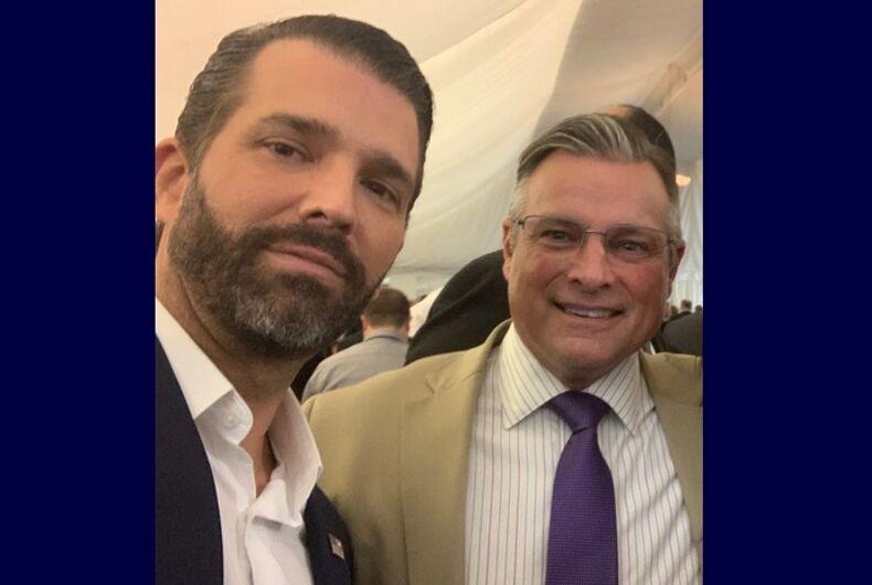 Donald Trump Jr. and John Mandt Jr.