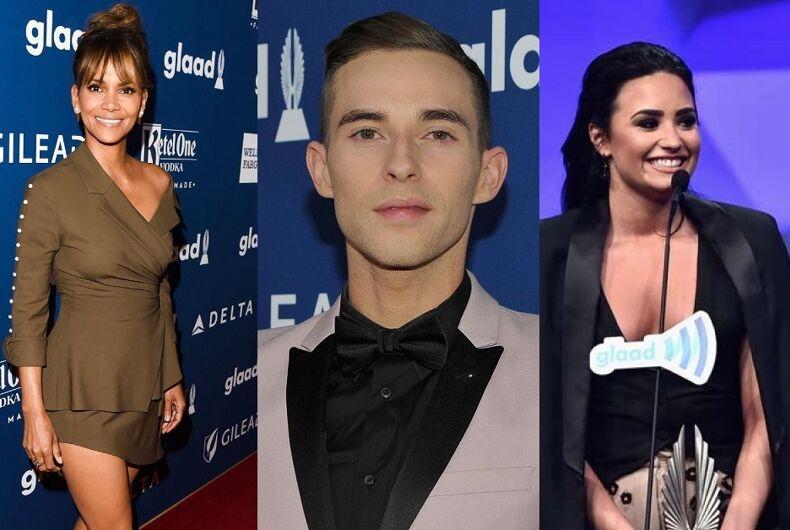 Halle Berry, Adam Rippon, Demi Lovato