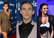 Halle Berry, Adam Rippon & Demi Lovato are helping to turn out the LGBTQ vote in battleground states