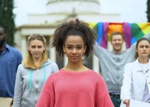 LGBTQ youth face more stress from police brutality & COVID-19