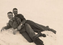 Historical photos of men in love: Their memories live on because their story is known