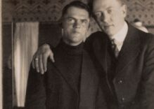 Historical photos of men in love: The first selfie of a gay couple is over a century old