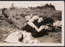 Historical photos of men in love: A defiantly casual embrace
