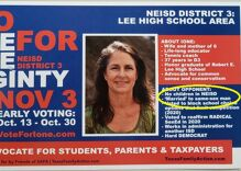 """Candidate says it is """"heterophobic"""" and """"Christian-phobic"""" to condemn anti-gay campaign mailer"""