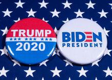 Tallying up political endorsements, Trump v. Biden