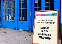 """Restaurant bans entry to people with symptoms of """"COVID-19, racism, homophobia & transphobia"""""""