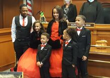 Gay man adopts five siblings because family is forever (even if it changes slightly)