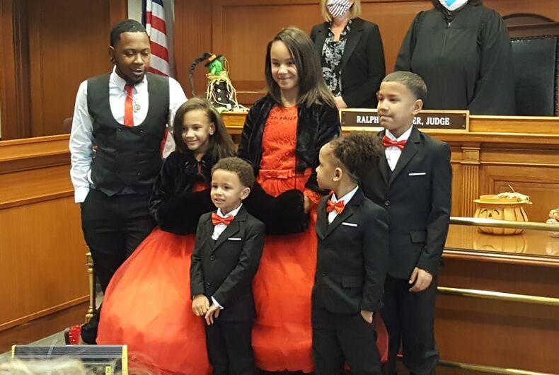Robert Carter and family