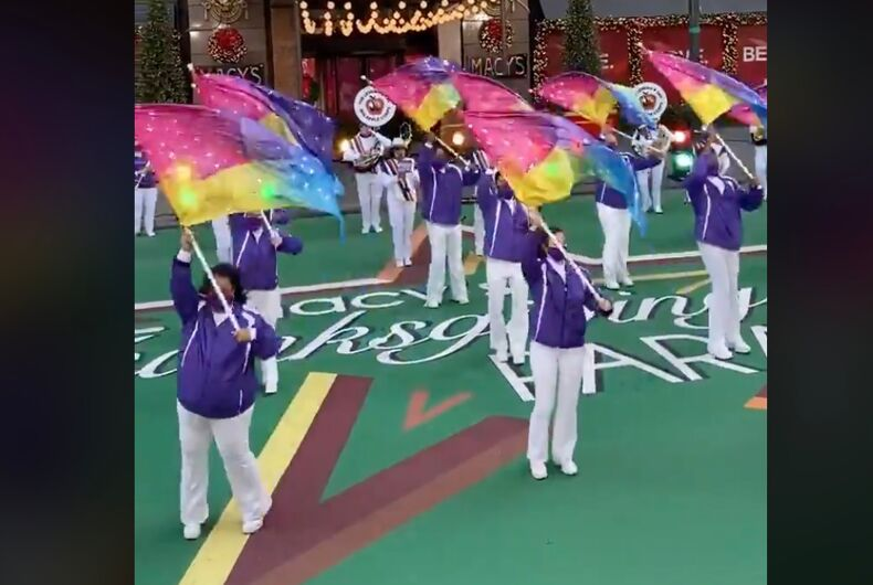 The Lesbian and Gay Big Apple Corps performing