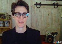 Rachel Maddow returns to air & reveals her partner was deathly sick with COVID