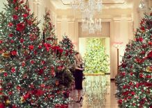 """Melania Trump reveals the Christmas decorations she doesn't """"give a f–k"""" about"""
