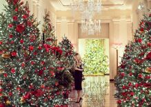 "Melania Trump reveals the Christmas decorations she doesn't ""give a f–k"" about"