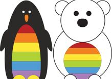 Pride celebrations were held together on the North & South Poles for the first time