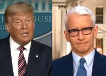 """Anderson Cooper calls Trump """"an obese turtle on his back flailing in the hot sun"""""""