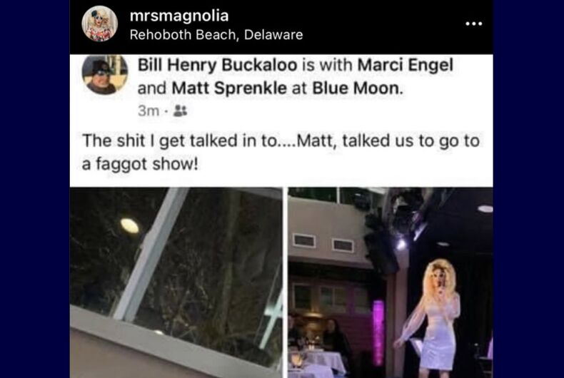 Buckaroo's Facebook post about the Blue Moon
