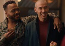 Ritz Cracker's heartwarming holiday ad spotlights a non-binary queer couple