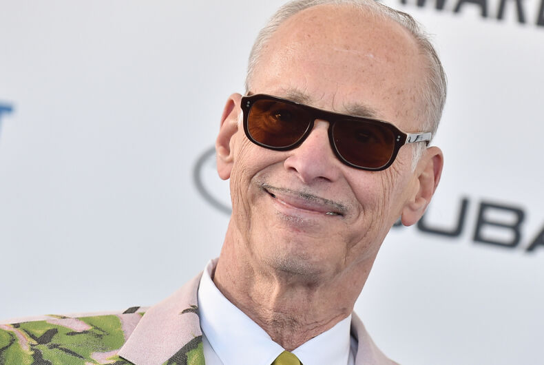 John Waters arrives for the 2019 Film Independent Spirit Awards on February 23, 2019 in Santa Monica, CA