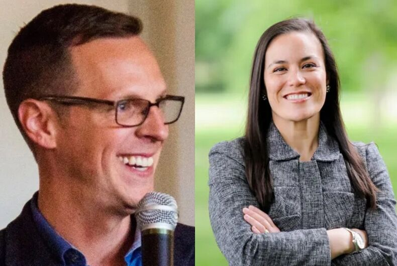Jon Hoadley and Gina Ortiz Jones