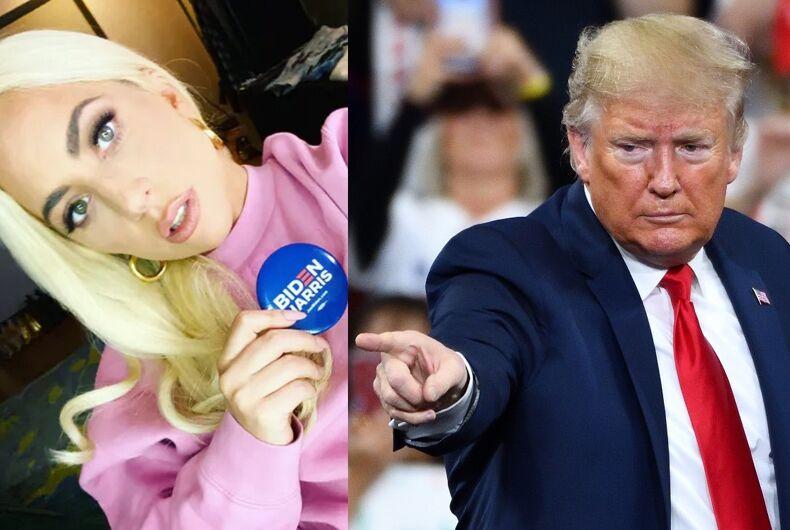Lady Gaga/Donald Trump