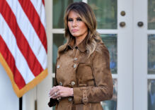 Melania Trump wanted to light the White House with rainbow colors for Pride month. She got told no.