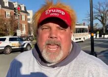 "Vile Trump supporter shouts ""F**k all you fa***ts"" at MAGA march attended by gay Republicans"