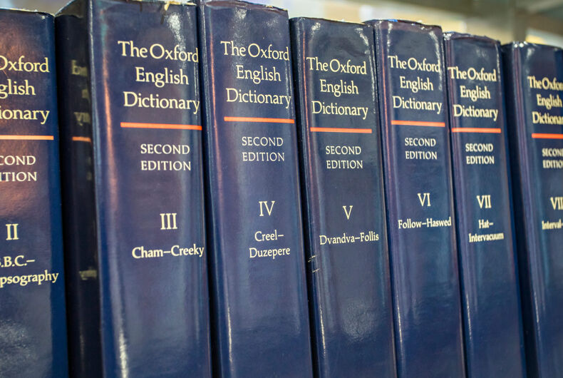 "The Oxford Dictionary just updated its definition of ""woman"" to be more LGBTQ-inclusive"