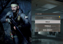 """""""Call of Duty"""" introduces non-binary character option. Cue the conservative outrage."""