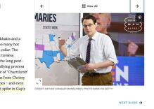 "Out MSNBC analyst Steve Kornacki makes ""Sexiest Men of 2020"" list & it is about damn time"