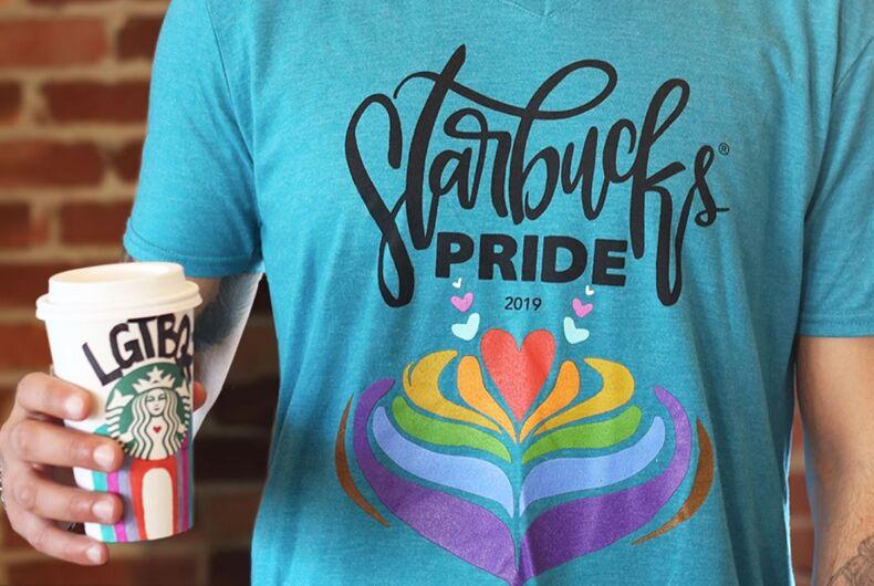 Starbucks Pride T-shirt from 2019