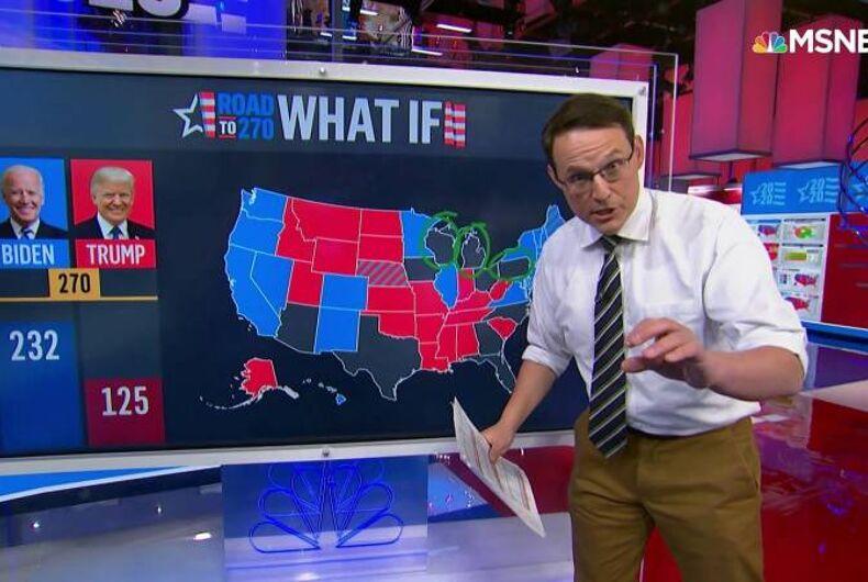 Steve Kornacki, gay journalist, MSNBC