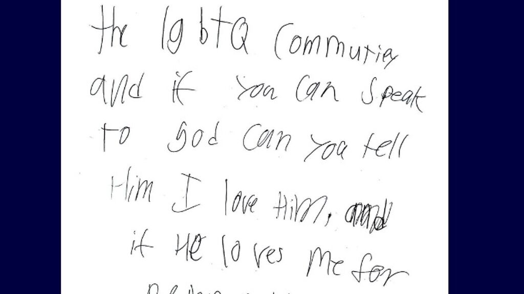 A gay kid's letter to Santa is breaking the internet's heart