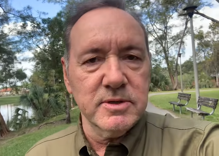 "Kevin Spacey releases a strange Christmas video once again for those ""who might be suffering"""