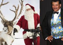 Neil deGrasse Tyson burns Santa by explaining how he's misgendering his reindeer