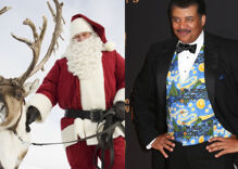 Neil deGrasse Tyson burns Santa by explaining how he's misgendering his reindeer