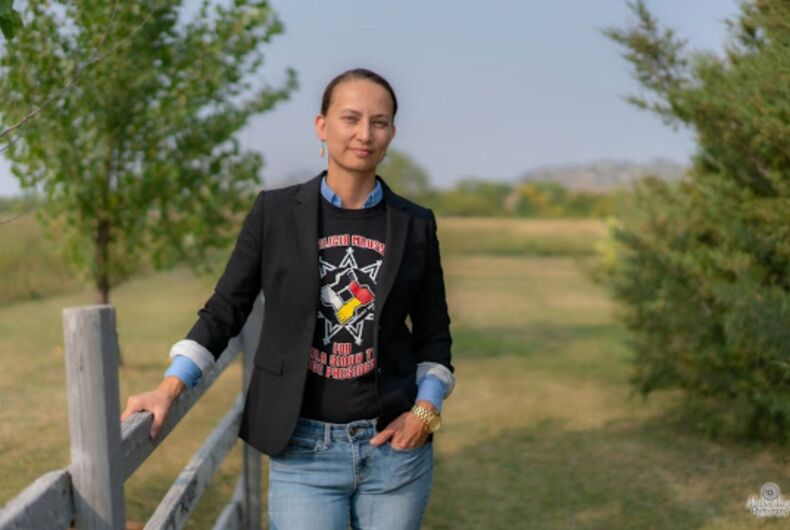 Alicia Mousseau, Vice President of the Oglala Sioux