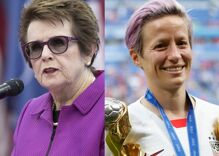 Megan Rapinoe, Billie Jean King & 174 female athletes sign brief supporting trans women in sports