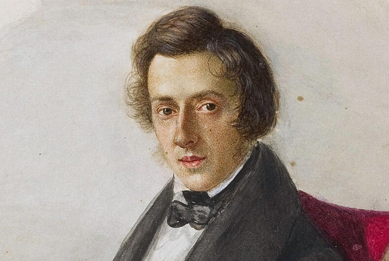 Frederic Chopin, composer, Polish, gay