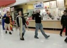 Anti-mask protestors terrorize shoppers at Target & say masks are Satanic