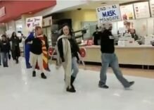 Anti-mask protestors terrorize shoppers at Target & say masks are Satanic