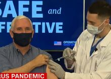 Mike Pence just got the COVID vaccine before most Americans will & people are angry about it
