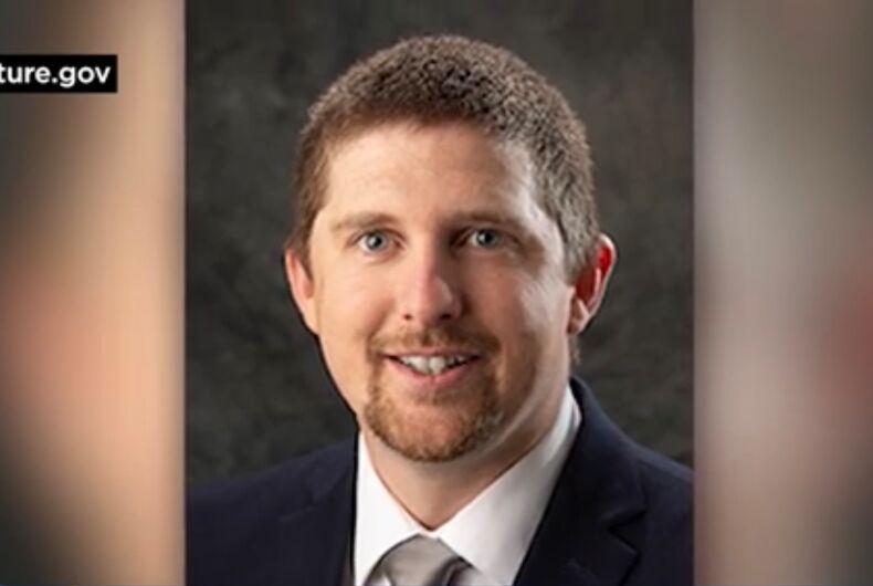 Derrick Evans of West Virginia