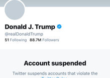 Twitter bans Donald Trump & takes down his account after years of antagonism