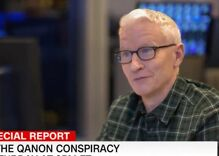 Watch a former QAnon follower apologize to Anderson Cooper for believing he ate babies