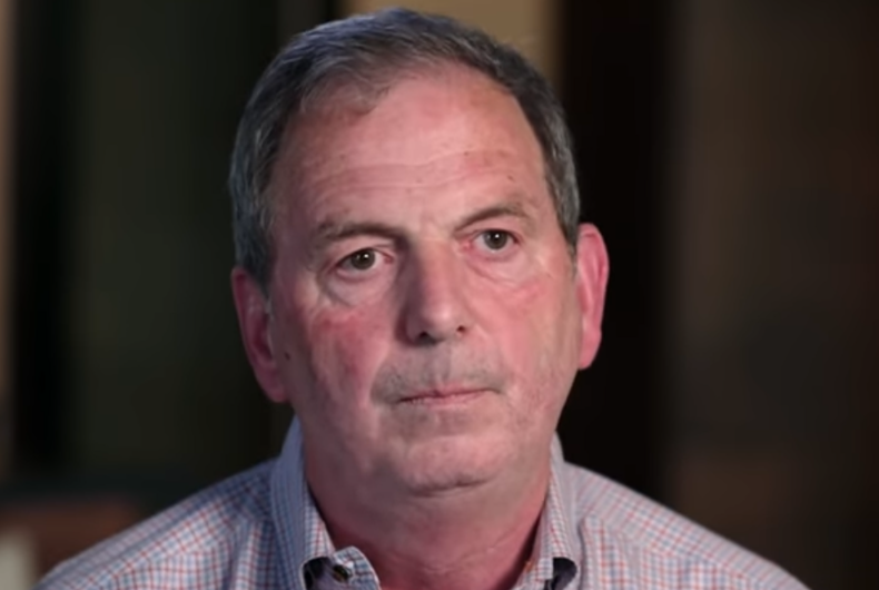 John Weaver appearing on '60 Minutes' in October 2020