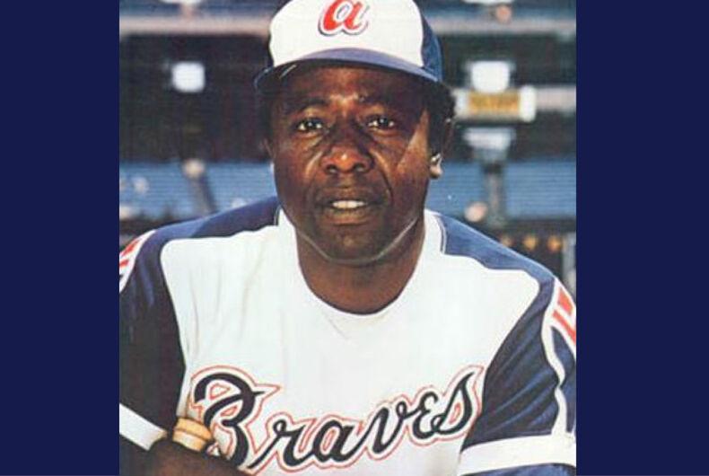 Hank Aaron in the 1974 MLB season