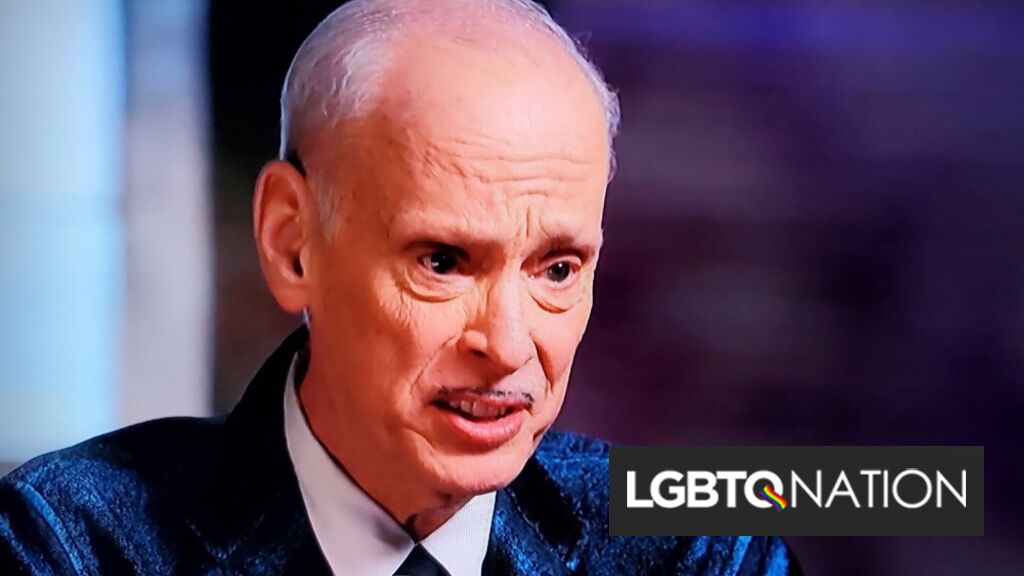 John Waters got the opportunity to learn about his ancestry. He's shocked at what he found.
