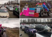 A thousand people turned out to support a transgender teen who was attacked at school