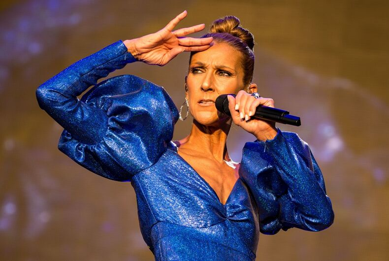 The Canadian Celine Dion who inspired the English Celine Dion's name.