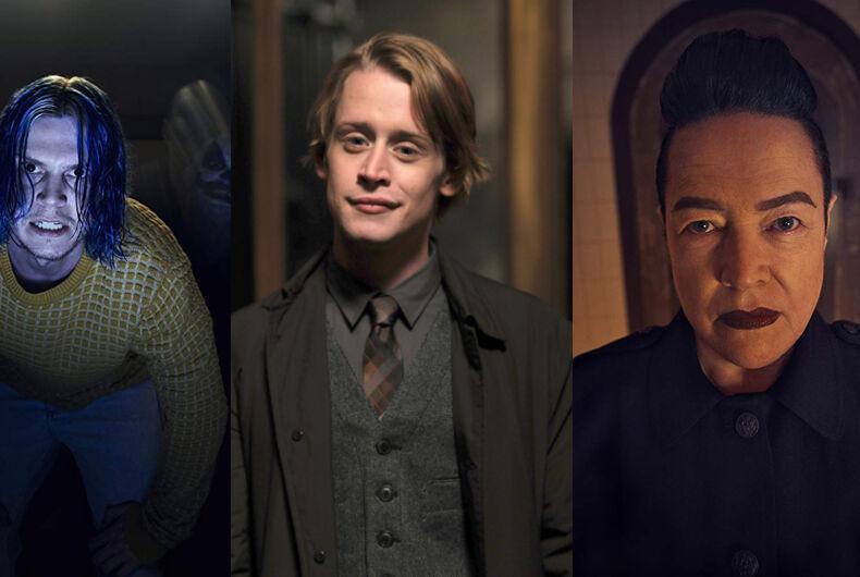 Actors Evan Peters, Macaulay Culkin, and Kathy Bates will star in American Horror Story 10.