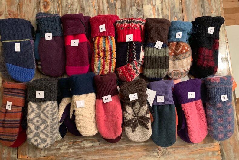 More mittens from Jen Ellis, the Senate's favorite lesbian mitten-creator